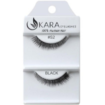 Kara Human Hair Eyelashes #S2