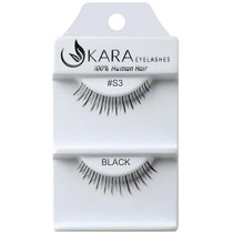Kara Human Hair Eyelashes #S3