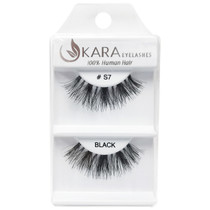 Kara Human Hair Eyelashes #S7