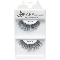 Kara Human Hair Eyelashes #510