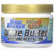 WaveBuilder Cocoa & Shea Wave Butter Moisture Revitalizer 5.1 oz