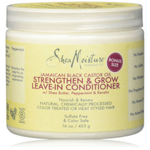 Shea Moisture Jamaican Black Castor Oil Strengthen & Restore Leave-In Conditioner 16 oz