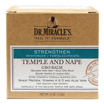 Dr. Miracle's Feel It Formula Temple and Nape Gro Balm 4 oz