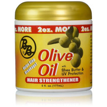 Bronner Brothers Olive Oil Hair Strengthener 6 oz