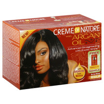 Creme of Nature No Lye Argan Oil Relaxer Kit (Regular)