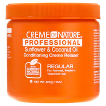 Creme of Nature Professional Sunflower & Coconut Oil Conditioning Creme Relaxer (Regular)