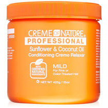 Creme of Nature Professional Sunflower & Coconut Oil Conditioning Creme Relaxer (Mild)