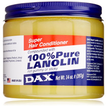 Dax 100% Pure Lanolin Super Hair Conditioner 14 oz