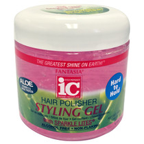Fantasia IC Hair Polisher Styling Gel Hard to Hold 16 oz