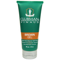 Clubman Temporary Brown Gel 3 oz