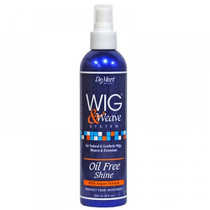 Demert Wig & Weave Oil Free Shine for Natural and Synthetic Hair 8 oz