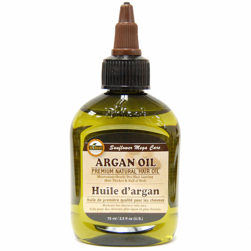 Difeel Premium Natural Hair Oil - Argan Oil 2.5 oz