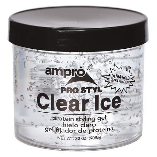 Ampro Style Clear Ice Protein Styling Gel 32 oz