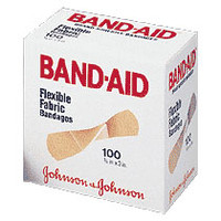 "Band-Aid Flexible Fabric Strip Adhesive Bandag 3/4"" x 3""  534434-Box"