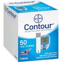 Contour Microfill Blood Glucose Test Strip (50 count)  567080-Box