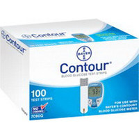 Contour Microfill Blood Glucose Test Strip (100 count)  567090-Box
