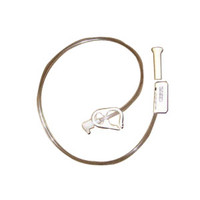 "Button Continuous Feeding Tube with 90 deg Adapter 24 fr x 24""  57000258-Each"