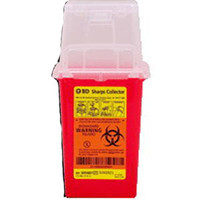 "1.5 Qt Nestable Sharps Container, 9"" X 4.5"" X 4""  58305487-Each"