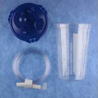 Medi-Vac Suction Canister with Tubing 1200 cc  5565651312-Each