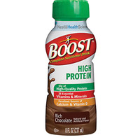 Boost High Protein Nutritional Energy Drink 8 oz., Rich Chocolate  8509403600-Case