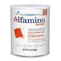 Alfamino Infant Unflavored Powder 14.1 oz.  851303478822-Each