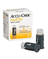 ACCU-CHEK FastClix Lancet 30G (102 count)  5905360145001-Box