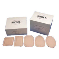 """Ampatch Style F-2 with 3/4"""" x 1 1/4"""" Oval Center Hole  49F2-Box"""