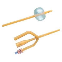 BARDEX Infection Control 3-Way Foley Catheter 18 Fr 5 cc  570119SI18-Each
