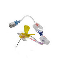 """Huber Plus Safety Infusion Set with Y Site, 20G x 1""""  57012001NY-Case"""
