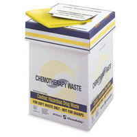 ChemoPlus Chemo Soft Waste Corrugated Container 20 Gallon, Yellow  68CT2100-Case