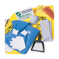 ChemoPlus Chemo Spill Kit with Poly-coated Maximum Protection Gown  68DP5108K-Each