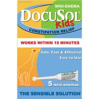 Docusol Kids Mini Enema  AG17433988405-Box