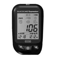 Glucocard Expression Blood Glucose Meter, Black
