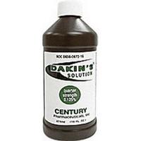 Dakin's Solution Quarter Strength 125% 16 oz. Bottle