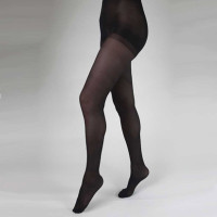 Health Support Vascular Hosiery 1520 mmHg, Panty Hose, Sheer, Black, Regular Size D