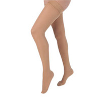 Health Support Vascular Hosiery 2030 mmHg, Full Length Thigh, Closed Toe, Sheer, Beige, Regular Size B