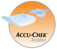 "AccuChek Tender I 43"" 17 mm Infusion Set"