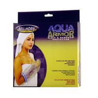 """BellHorn Aqua Armor Cast & Bandage Protector, 11"""", Transparent/Blue (Short Leg)"""