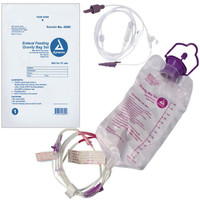 Gravity Bag Set with 1200 cc Enteral Bag  with ENFit Connector