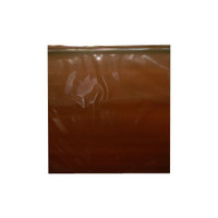 "Amber Seal Top Reclosable Bag, 12"" x 12"""