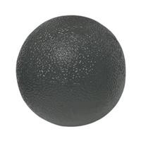 CanDo Gel Ball Hand Exerciser, Standard Circular, Black XHeavy