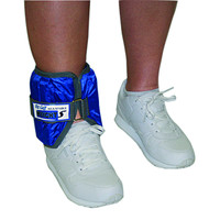 CanDo Adjustable Cuff Ankle Weight, Blue, 10 lb.