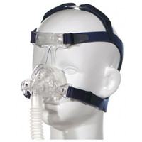 Nonny Pediatric Mask Large Kit with Headgear, Size Large & (Adult) XSmall Exchangeable Cushions