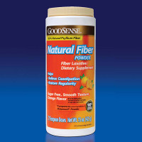 Natural Fiber Powder, 15 oz., Orange