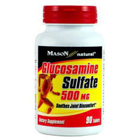 Glucosamine Sulfate 500 mg Tabs, 90 Count