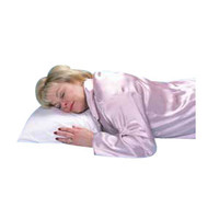 "Buckwheat Sleeping Pillow, 16"" x 20"", White"