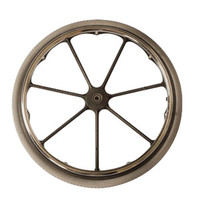 "24"" Rear Wheel with Aluminum Handrim Assembly"