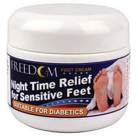 Freedom Night Time Foot Cream, 2 oz. Tub