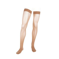 Assure ThighHigh with Silicone Top Band, 2030, Closed, Beige, Size 3