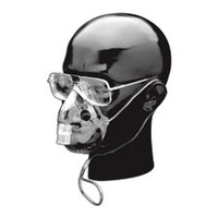 Adult Elongated Aerosol Mask w/o Tube, Elastic Str